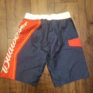 Official Budweiser swim trunks size 32